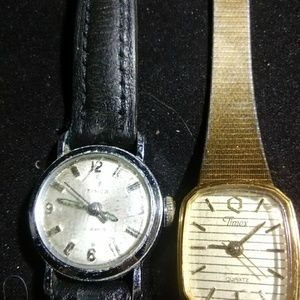 Vintage Timex Watches one rare 17 jewel